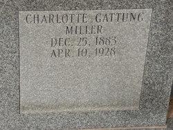 Charlotte Helen <I>Petersen</I> Miller