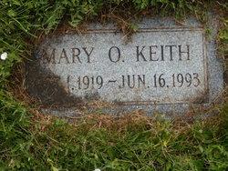 Mary <I>Ondonez</I> Keith