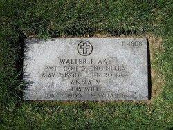 Walter F Ake