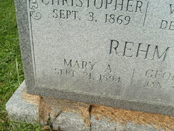 Mary Ann <I>Winterhalter</I> Rehm