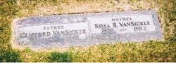 """Rosa Belle """"Rosie"""" <I>Payne</I> VanSickle"""