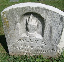 Milly D. <I>Scrogin</I> Brown