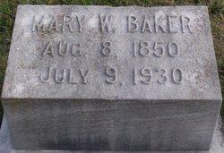 Mary Herndon <I>Woolfolk</I> Baker