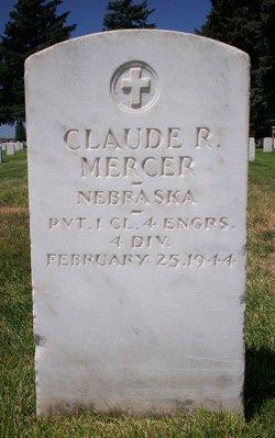Claude R Mercer