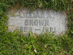 Lillian Augusta <I>Pearson</I> Brown
