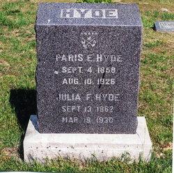 Julia Frances <I>Weaver</I> Hyde