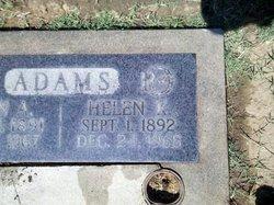 """Helen K. """"Nell/Nellie"""" Adams"""