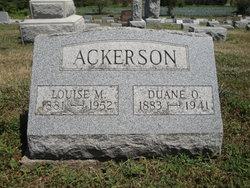 """Louise Mary """"Rosie"""" <I>DePrez</I> Ackerson"""