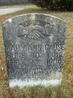 "Mary Ann ""Polly"" <I>Mishoe</I> Gause"