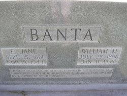 """William Milton """"Will"""" Banta"""