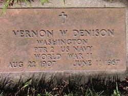 "Vernon Wesley ""Denny"" Denison"