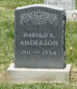 Harold R. Anderson