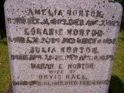 Sarah E <I>Norton</I> Ball