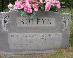 Drucilla <I>Chaffins</I> Boleyn