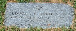 Edward Peace Friedland