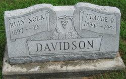 Claude Raymond Davidson