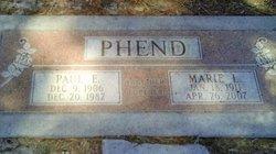 Paul Eugene Phend