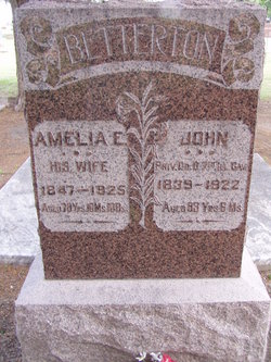 Amelia E <I>Barnard</I> Betterton