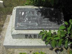 Mary Ann Adelia <I>Hymas</I> Parker