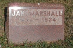 Jane <I>York</I> Marshall