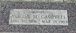 Avilda E <I>Walsh</I> Campbell
