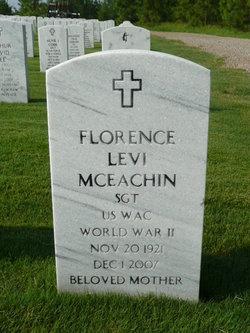 Florence Marjorie <I>Levi</I> Mceachin