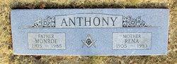 Rena May <I>Thornton</I> Anthony