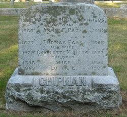 Annie F <I>Page</I> Chipman