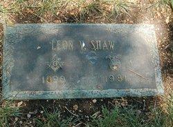 Leon Valentine Shaw