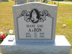 Diane <I>Sims</I> Aaron