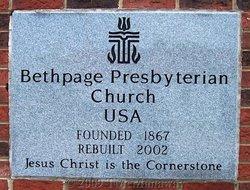 Bethpage Presbyterian Church Cemetery