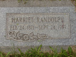 Harriet Randolph