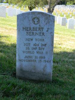 Sgt Herbert J Berner