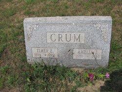 Amelia Jane <I>Hofecker</I> Crum