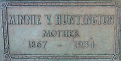 Minnie Violet <I>Oller</I> Huntington