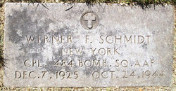 Corp Werner F Schmidt