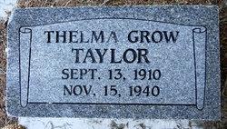 Thelma <I>Grow</I> Taylor