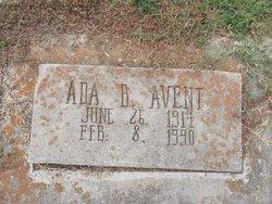 Ada Bertha <I>Battle</I> Avent