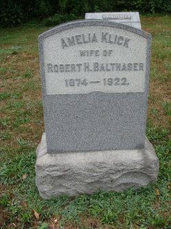 Amelia <I>Klick</I> Balthaser