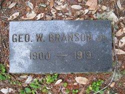 George Washington Branson, Jr