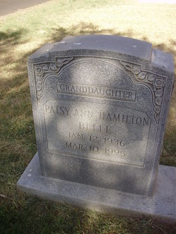 Patsy Ann <I>Hamilton</I> Belle