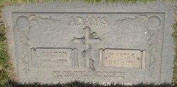 Myrtle M. <I>Grittman</I> Adams