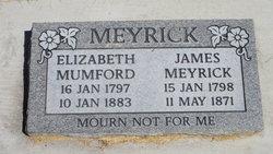 Elizabeth <I>Mumford</I> Meyrick
