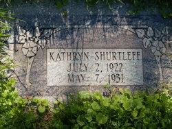Kathryn Shurtleff