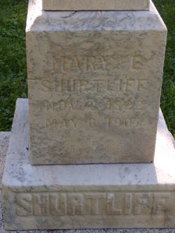 Mary Elizabeth <I>Hadlock</I> Shurtliff