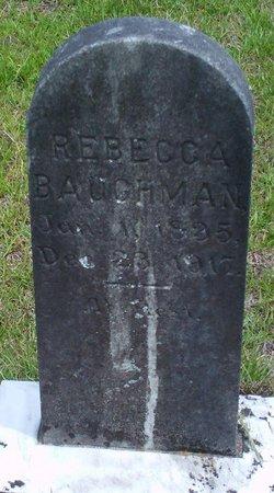 Rebecca <I>Pound</I> Baughman