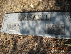 Martha L <I>Warwick</I> Criswell