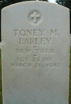 SGT Toney M Barley