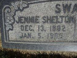 "Susanna Jane ""Jennie"" <I>Shelton</I> Swain"