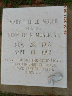 Mary <I>Tuttle</I> Moser